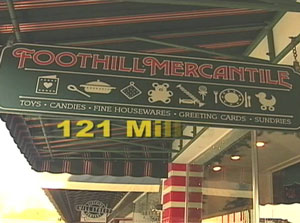 foothill mercantile candy grass valley california