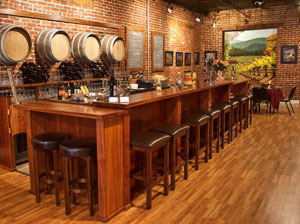 151 union square wine tasting bar image in grass valley