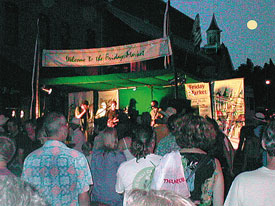 grass valley thursday night market free summer concert stage
