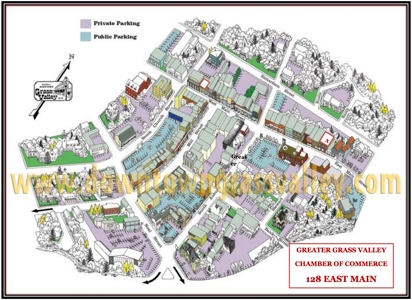 downtown grass valley parking maps