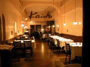 kaido sushi grass valley california