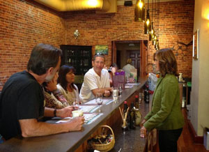 lucchesi vineyards grass valley wine tasting room image