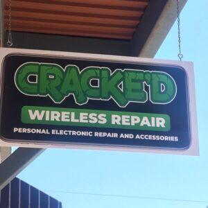 Cracked wireless phone repair