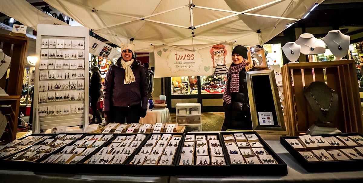 Cornish Christmas vendors